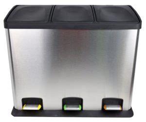 poubelle de cuisine tri s駘ectif 3 bacs poubelle tri s 233 lectif trouvez votre poubelle de tri