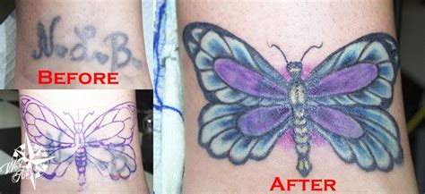 tattoo nightmares butterfly butterfly cover up tattoo my tattoos pinterest