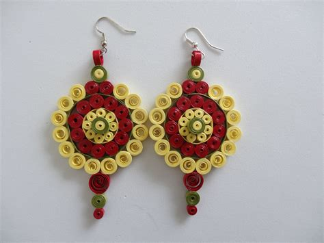 paper quilling earrings 28 images quilled earrings 2