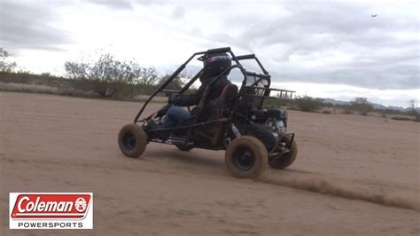 Road Go Karts by Coleman Powersports Kt196 Gas Powered Road