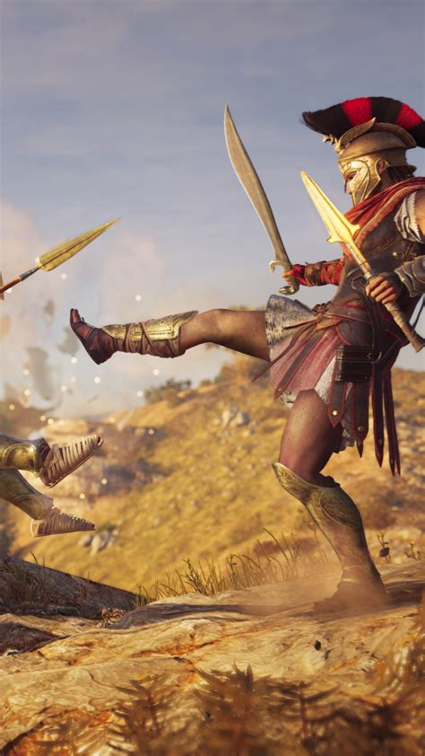 Wallpaper Assassin's Creed Odyssey, E3 2018, screenshot