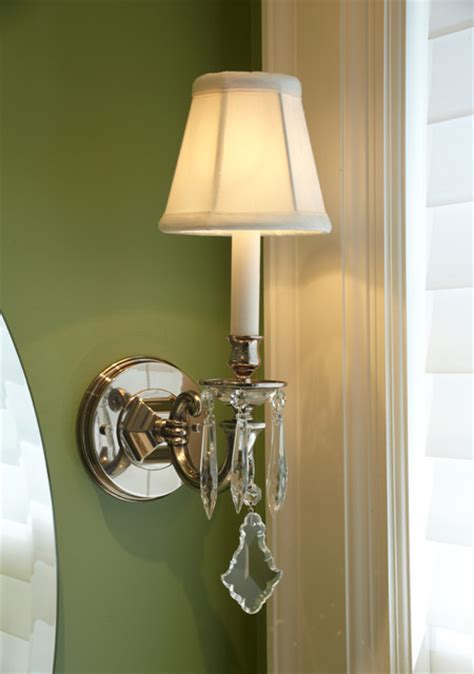 crystal bathroom sconce lighting nickel and crystal bathroom sconce traditional