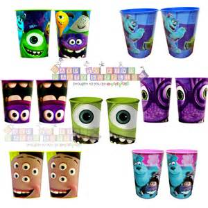 Monsters Inc Favors by Monsters Inc 16oz Reusable Keepsake Cups