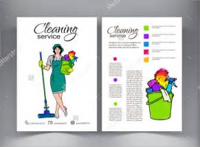 cleaning brochure templates free cleaning flyer sles