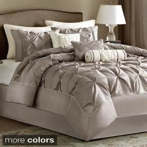 Plum Colored Comforters Madison Park Vivian Polyester Solid Tufted 7 Piece
