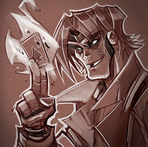 sketchbook kickass gambit by frogbillgo on deviantart