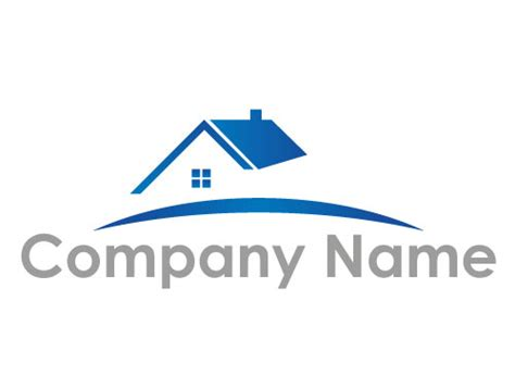 haus logo stilisiertes haus logo logomarket