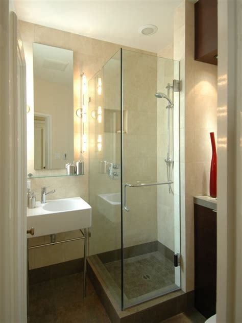 Tiny Bathroom Showers Small Shower Room Decorating Ideas