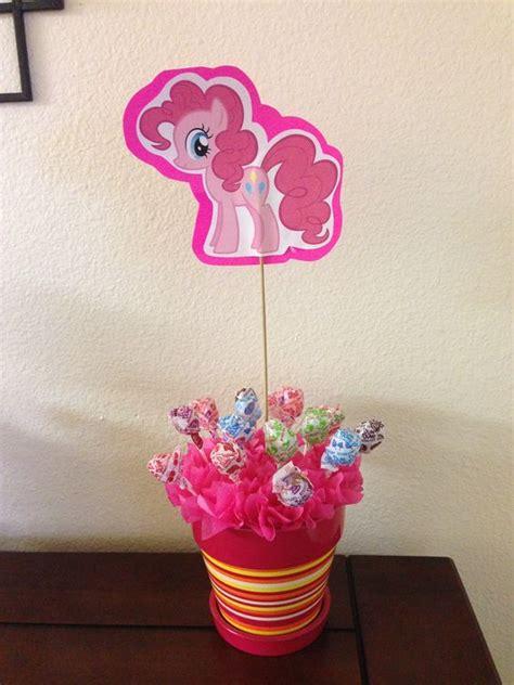 pinkie pie pony table decoration