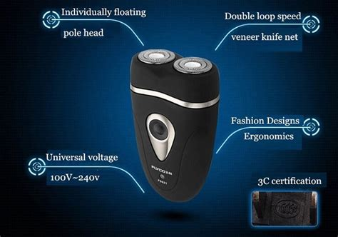 Panasonic Bulu Mata Electric flyco speed xl dual electric shaver pisau cukur elektrik fs821 black silver