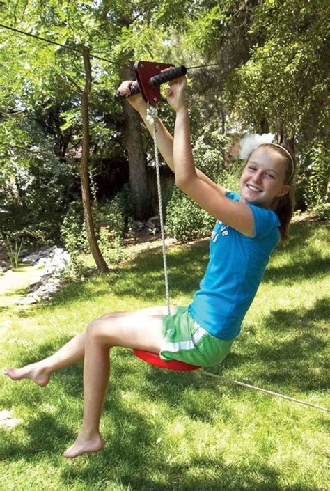 zip line swing slackers zipline eagle series kit swingsetmall com