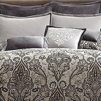 royal velvet comforter set royal velvet 174 lourdes gray comforter set bedroom pinterest