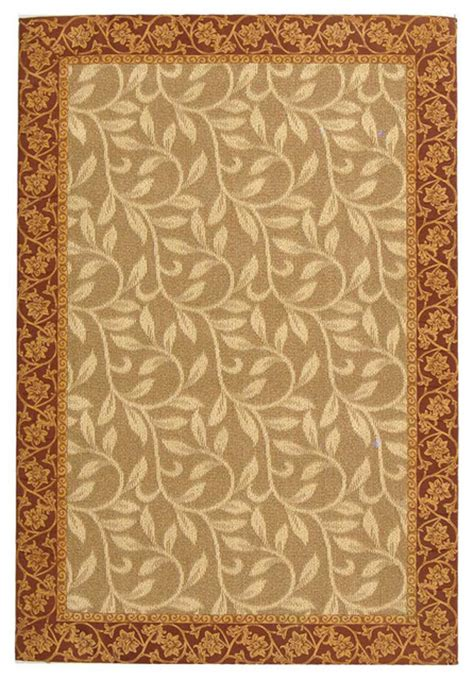 Yellow And Brown Area Rugs Hamilton Yellow Brown Area Rug Hn189a 2 X 9 Contemporary Rugs By Zopalo
