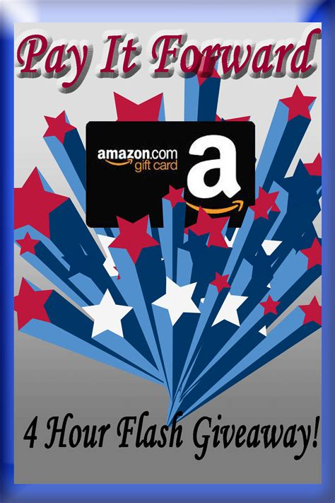 Amazon Giveaway Review - 4 hour flash giveaway for a 25 amazon gift card open ww