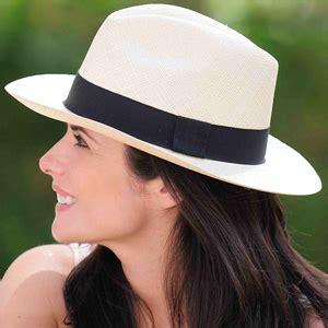 panama hat fedora white gamboa classic for