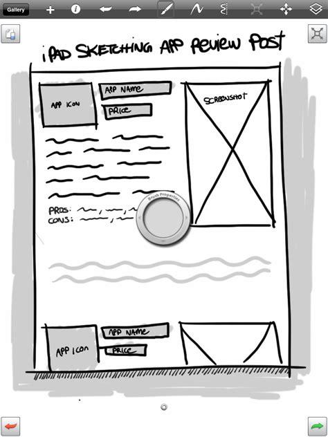 sketchbook pro pressure sensitivity sketching app review