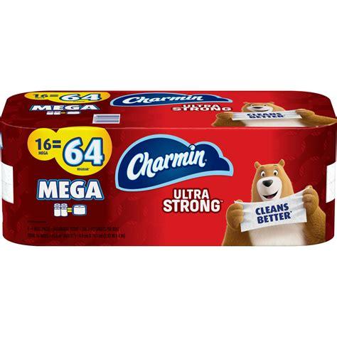 charmin ultra strong toilet paper  mega roll toilet paper home appliances shop