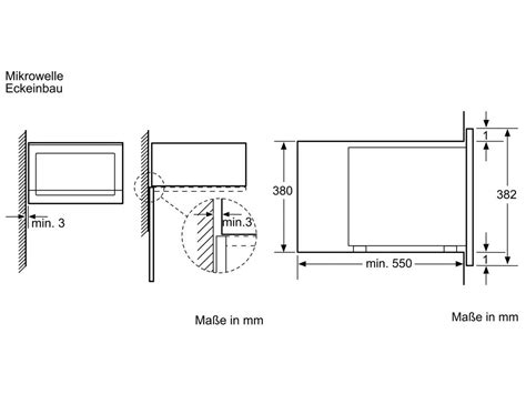 Neff Mikrowelle Einbau 1943 by Neff Mikrowelle Einbau Neff C57w40n3 Edelstahl Einbau