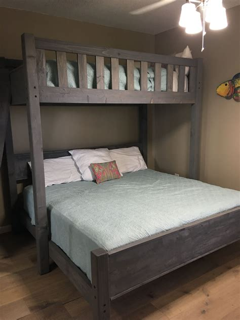 fresh twin  full bunk bed plans  bunk bed plans