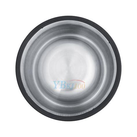Feeding Dish Size Xl pets cat stainless steel non slip feeding food water dish feeder bowls s xl ebay