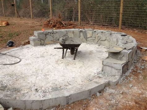How To Build A Beautiful Fire Pit In Your Backyard Using How To Build A Firepit With Pavers