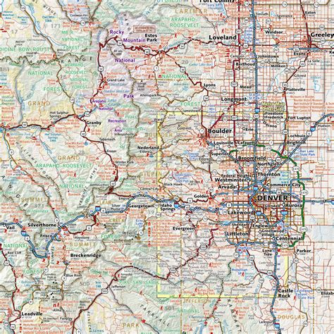 printable road atlas colorado road recreation atlas download pdf file