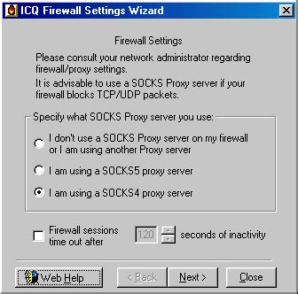 socks4 proxy andy s tech page pppshar configuring icq
