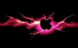 Lightning Mac Pink Lightning Apple By Mind4music On Deviantart