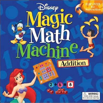 Disney Learning Story Addition Substraction disney magic math machine addition subtraction by disney book hardcover barnes noble 174