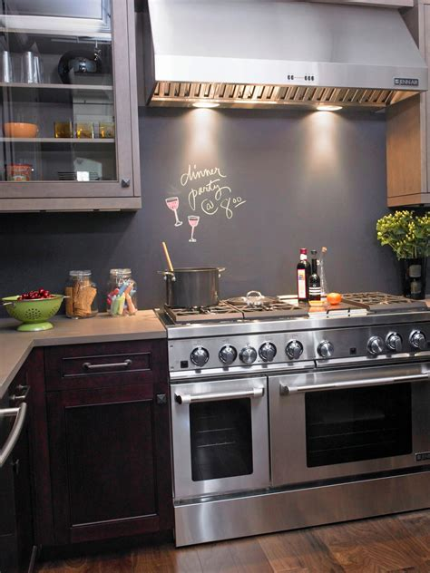 diy chalkboard backsplash 30 trendiest kitchen backsplash materials kitchen ideas