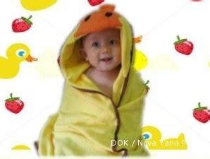Handuk Topi Handuk Ponco Hooded Towel basahnya laba dari usaha handuk berbentuk unik