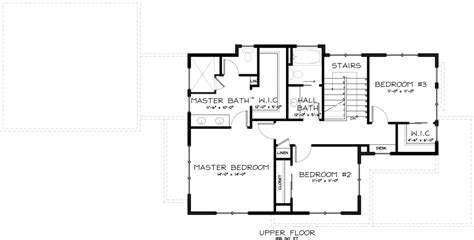 craftsman style house plan 3 beds 2 5 baths 2138 sq ft