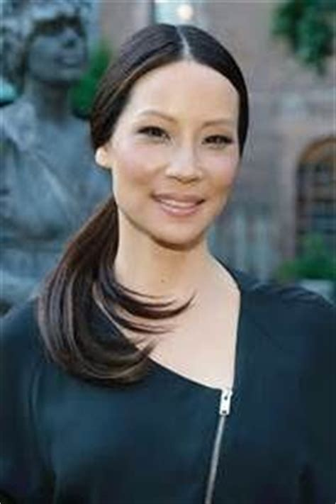 lucy liu straight hair the glossiest a list styles instyle uk lucy liu straight hair the glossiest a list styles