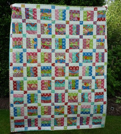 Size Quilt Patterns For Beginners by Pdf Quilt Pattern For Jelly Rolls Baby Crib