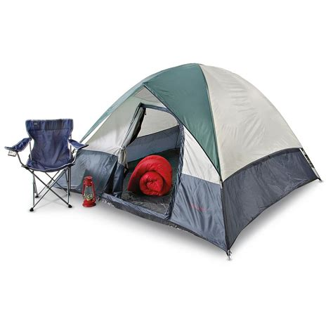 Columbus Tent And Awning by Columbus Sunridge 8x8 Tent White Gray Green