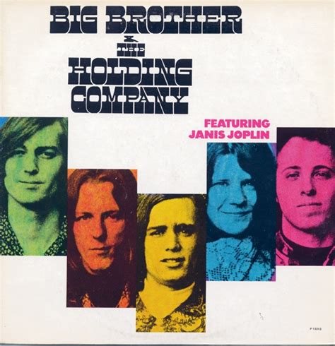 album cover big brother  holding company janis joplin vocals album covers pinterest
