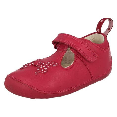 clarks baby shoes infant baby clarks cruiser shoes ida sparkle ebay