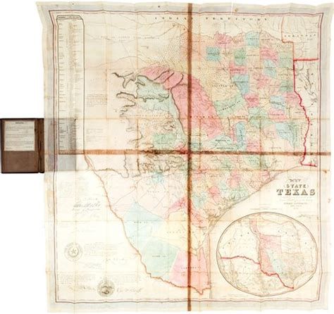 texas burn ban map 2014 texas map sells at auction for 149k kxan