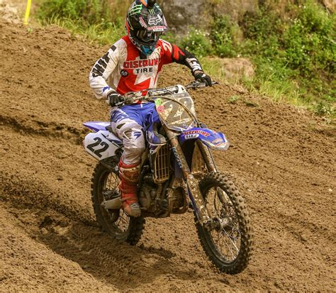 how is a motocross race chad reed to race yz450f on saturday