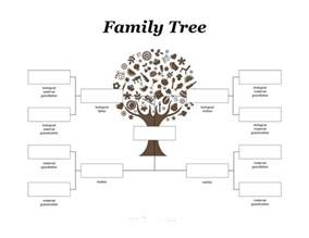Free Templates For Family Trees by Family Tree For Printable Calendar Templates