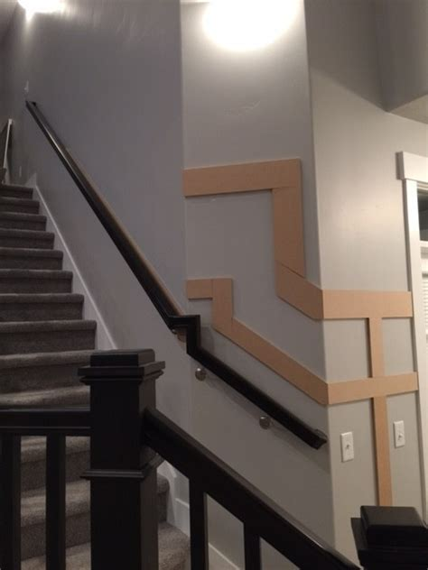 Wainscoting Up Stairs by Diy Stair Wainscoting Honeybear