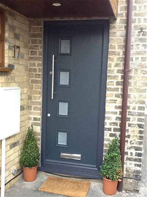 Contemporary Composite Front Door Replacement Door In Huntingdon A Study Apple