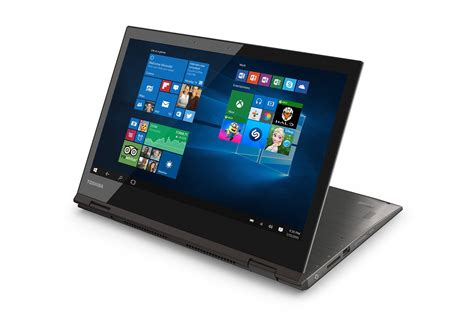 toshiba unveils the world s 12 5 inch 4k convertible laptop extremetech