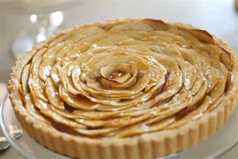 apple tart french apple tart recipe entertaining with beth