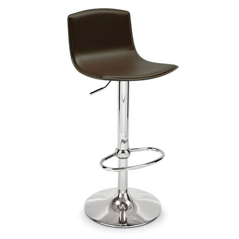 bar stools somerville ma egg cb 1345 lh leather upholstered bar stool by connubia