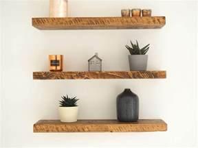 rustic floating wall shelves rustic wood floating shelves order great value