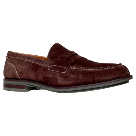 kurt geiger loafers kg kurt geiger healey suede loafers in for brown