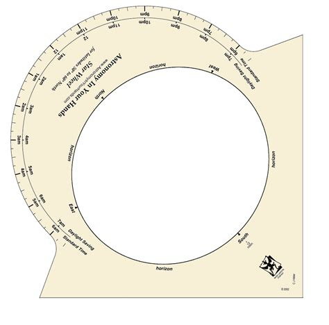 printable star finder star wheel astronomy in your hands