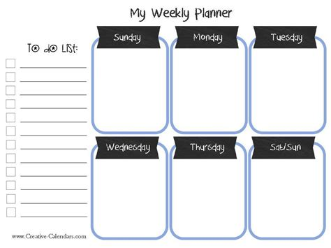 10 weekly planner templates word excel pdf formats 10 weekly planner templates word excel pdf formats