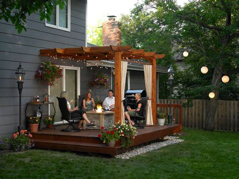 Backyard Pergola Ideas Pergolas And Outdoor Rooms